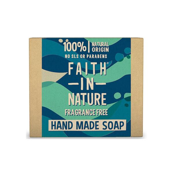 Sapun natural solid fara parfum, Faith in Nature, 100 gr