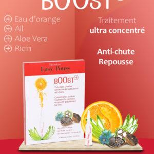 Fiole tratament cu ricin, aloe vera, impotriva caderii parului Boost +...