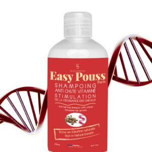 Sampon vitaminizat impotriva caderii parului, cu cheratina, Easy Pouss...
