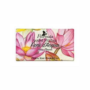 Sapun vegetal cu flori de lotus, 100 g La Dispensa