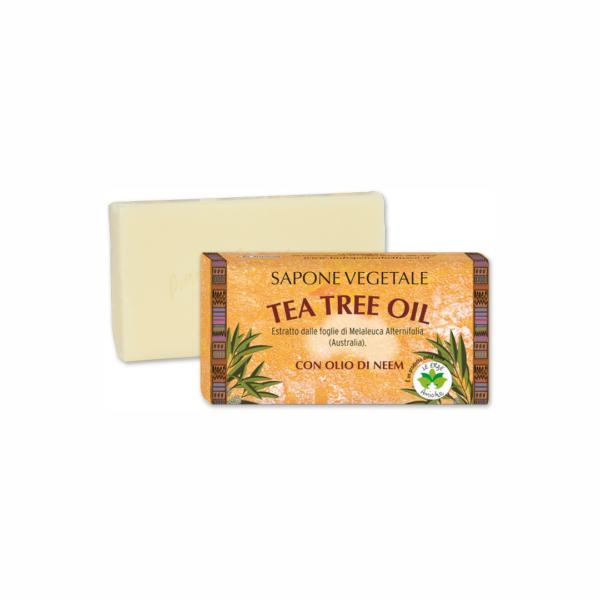 Sapun vegetal cu ulei din arbore de ceai, 100 g La Dispensa