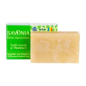 Sapun natural cu Castravete si Vitamina C, Savonia, 90g