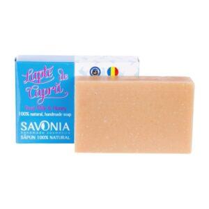 Sapun natural cu Lapte de Capra si Miere, Savonia, 90g