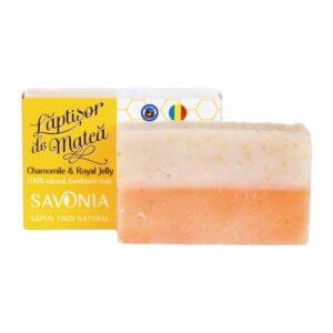 Sapun natural cu Musetel si Laptisor de Matca, Savonia, 90g