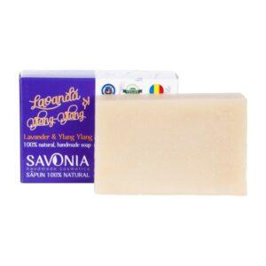 Sapun natural cu Lavanda si Ylang Ylang, Savonia, 90g