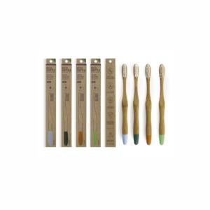Periuta de dinti din bambus organic, Soft, Ecodenta