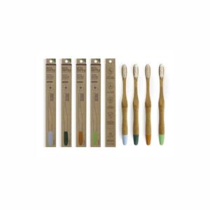 Periuta de dinti din bambus organic, Medium, Ecodenta
