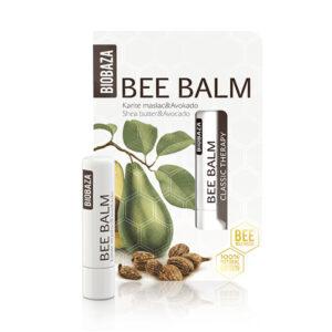 Balsam de buze natural cu unt de shea si avocado, Biobaza, 4,5 g