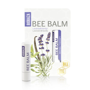 Balsam de buze natural cu lavanda si vanilie, Biobaza, 4,5 g