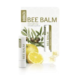 Balsam de buze natural cu ulei de masline si grapefruit, Biobaza, 4,5 ...