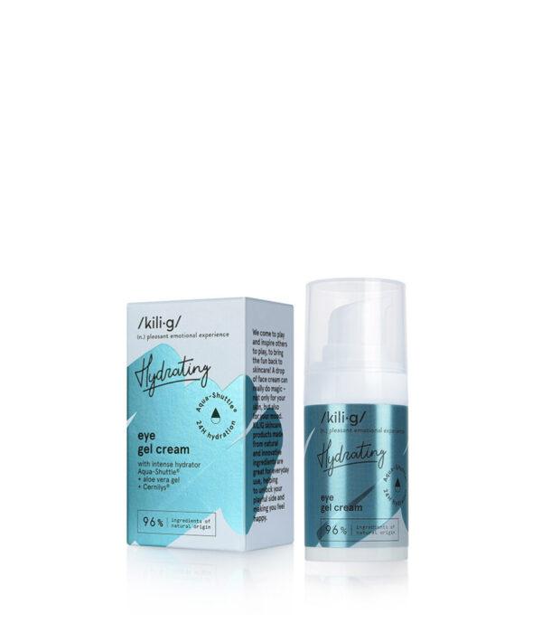 Gel-crema intens hidratanta pentru ochi, Kilig Hydrating, 15 ml