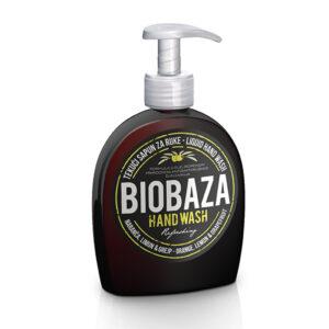 Sapun lichid natural cu portocala, lamaie si grapefruit, Biobaza, 300 ...