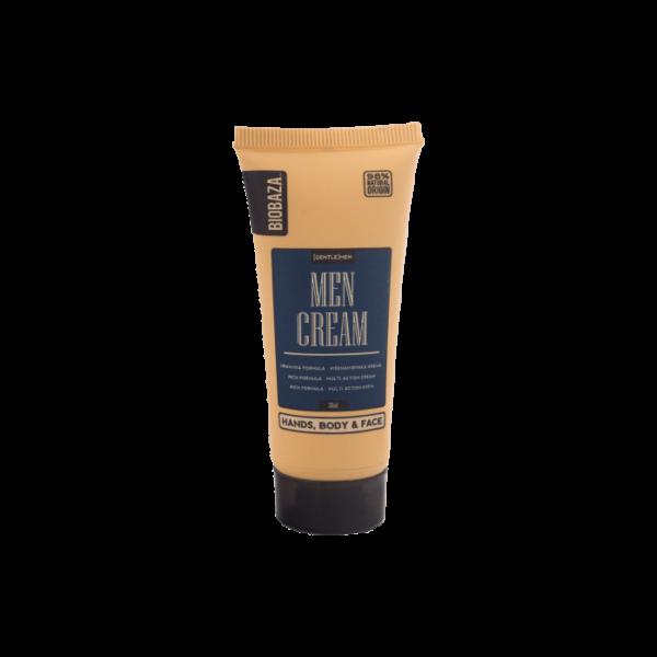 Crema naturala universala pentru barbati (maini, corp, fata), Biobaza, 30 ml
