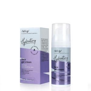 Gel-crema intens hidratant pentru ten normal si mixt, Kilig Hydrating,...