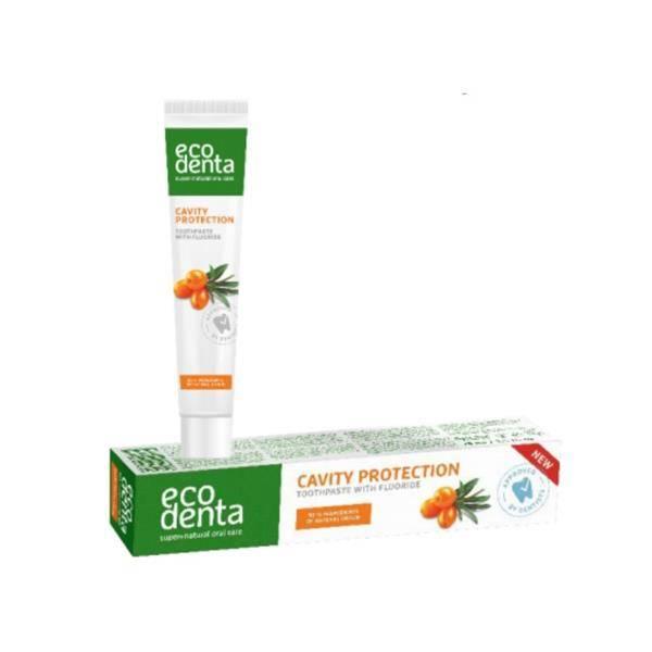 Pasta de dinti naturala cu catina pentru protectia cavitatii orale, Ecodenta, 75 ml