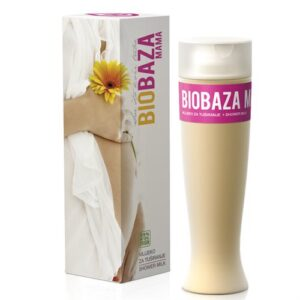 Gel de dus cremos antivergeturi, pentru sarcina, Biobaza MAMA, 200 ml