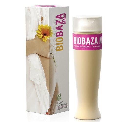 Gel de dus cremos antivergeturi, pentru sarcina, Biobaza, 200 ml