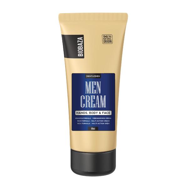 Crema naturala universala pentru barbati (maini, corp, fata), Biobaza, 100 ml