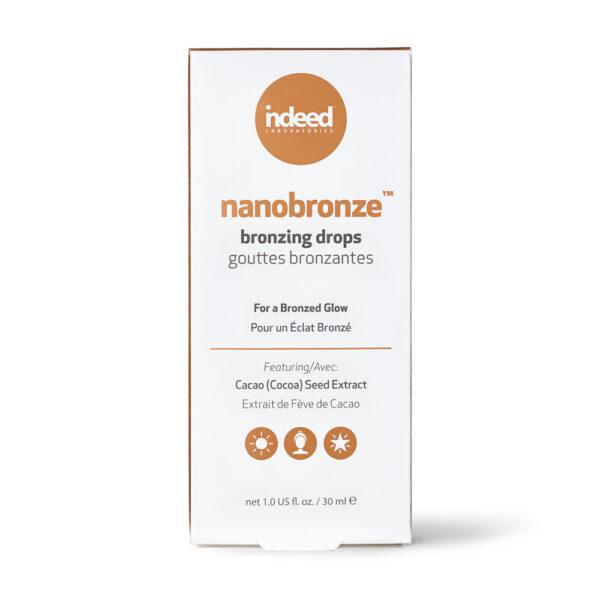 Ser bronzant anti-poluare cu protectie Blue Light, Nanobronze, Indeed Labs, 30 ml