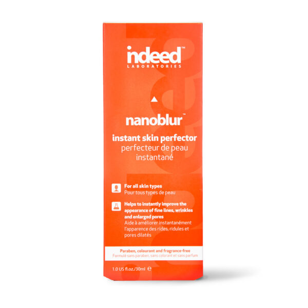 Crema instant anti-imperfectiuni pentru fata, Nanoblur, Indeed Labs, 30 ml