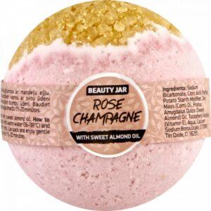 Bila de baie efervescenta cu sampanie, Rose Champagne, Beauty Jar, 150...