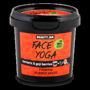 Masca faciala alginata pentru fermitate, cu turmeric si goji, Face Yog...