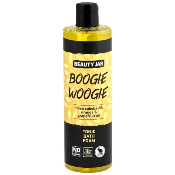 Spuma de baie tonifianta cu ulei de portocale, Boogie Woogie, Beauty Jar, 400ml