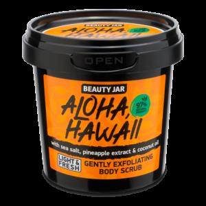 Scrub delicat pentru corp, cu sare de mare, Aloha Hawaii, Beauty Jar, ...