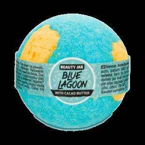Bila de baie efervescenta cu unt de cacao, Blue Lagoon, Beauty Jar, 15...