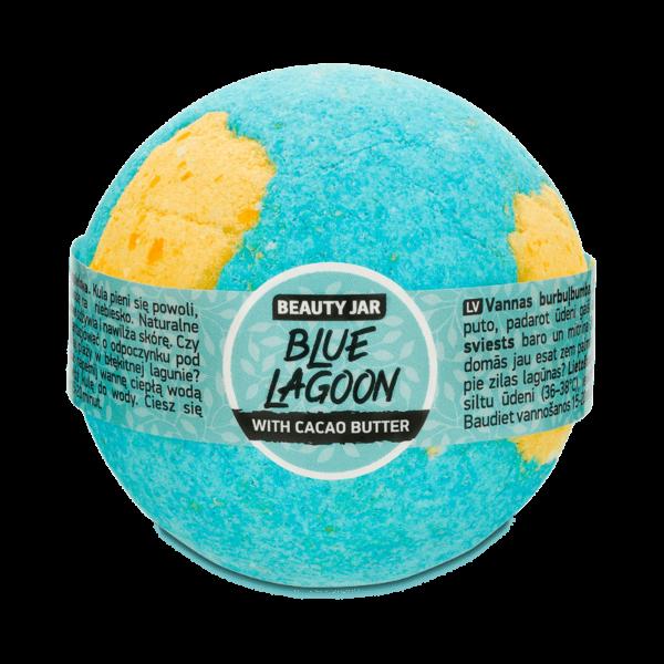 Bila de baie efervescenta cu unt de cacao, Blue Lagoon, Beauty Jar, 150g