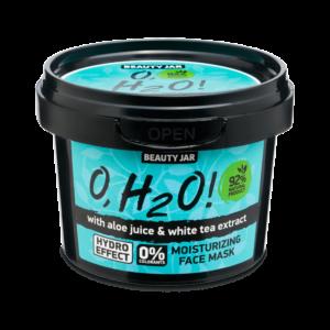 Masca faciala hidratanta cu aloe vera si extract de ceai verde, O,H2O,...
