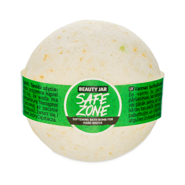 Bila de baie efervescenta cu musetel, ulei de migdale si vitamina E, Beauty Jar, 150 g