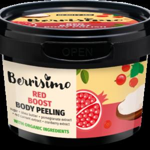 Exfoliant corporal cu zahar si extract de rodie, Berrisimo, Beauty Jar...
