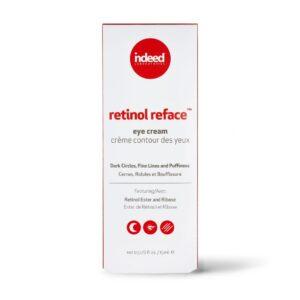 Crema pentru ochi cu retinol, Retinol Reface, Indeed Labs,15 ml