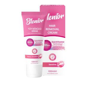 Crema depilatoare pentru piele sensibila, Blenior, 100 ml