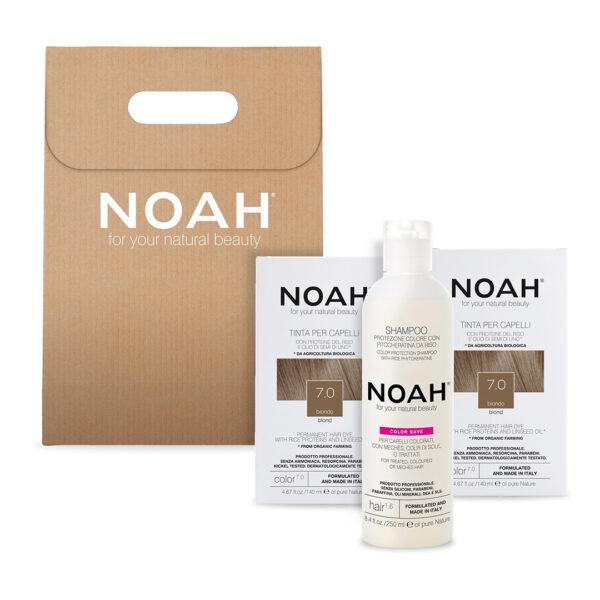 Set 2+1 Color & Protect Blond 7.0, Noah, 630 ml