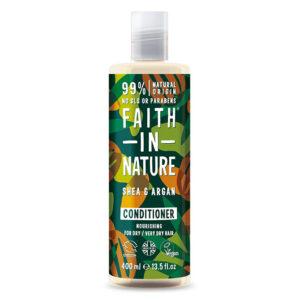 Balsam natural hranitor cu unt de shea si ulei de argan pentru par usc...